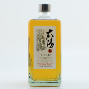 Teeda Aged 5 Years Japanese Rum 40% 0,7l