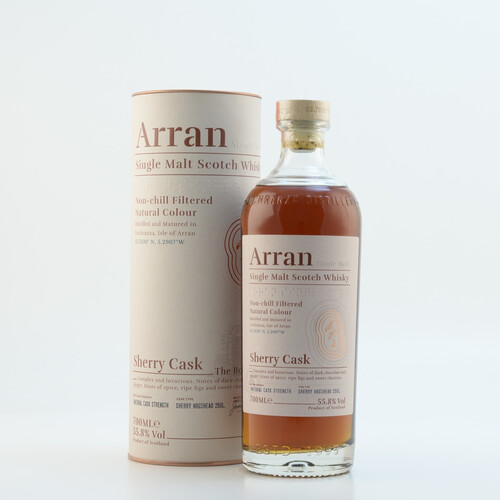 Arran Malt Sherry Cask Finish Whisky 46% 0,7l