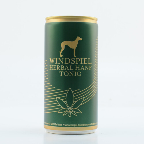 Windspiel Herbal Hanf Tonic Water 0,2l (kein Alkohol)