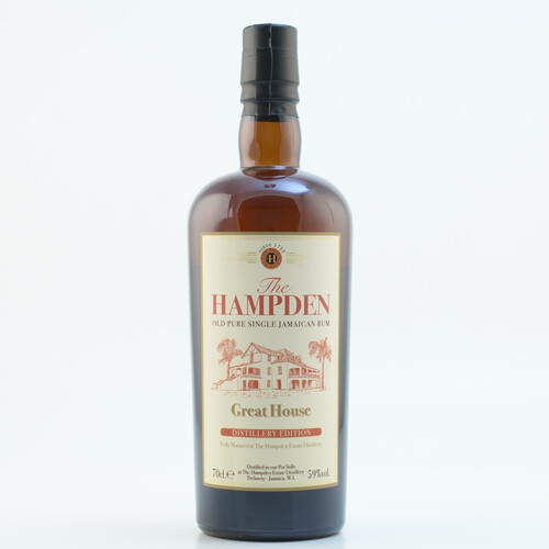 Hampden Great House Distillery Edition Rum 59% 0,7l