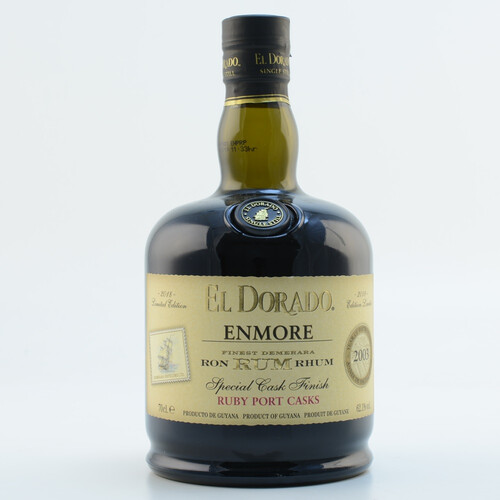 El Dorado Rum Enmore Ruby Port Special Cask Finish 2003 Limited Edition 2018 62,1% 0,7l