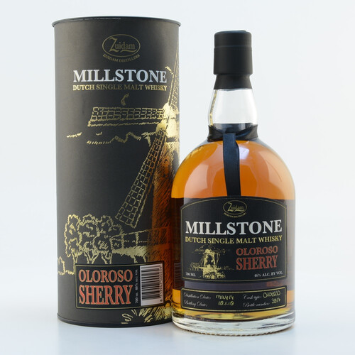 Zuidam Millstone Single Malt Whisky Oloroso Sherry Cask 2014/2018 46% 0,7l