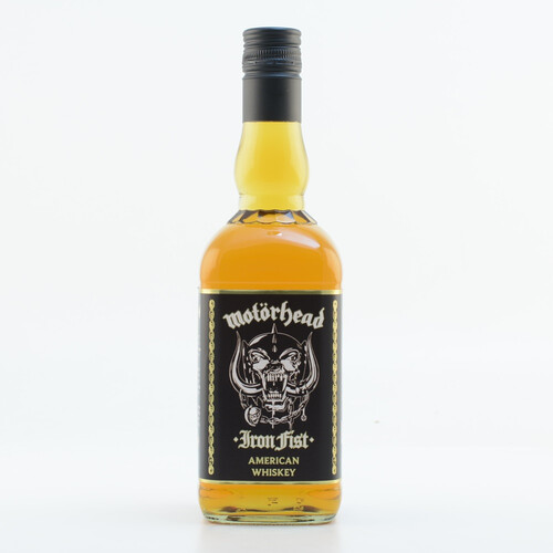 Motörhead Iron Fist Whisky 40% 0,7l