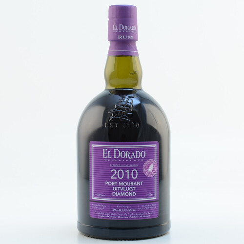 El Dorado Rum Blended in the Barrel 2010/2019 Port Mourant Uitvlugt Diamond Limited Edition 49,6% 0,7l