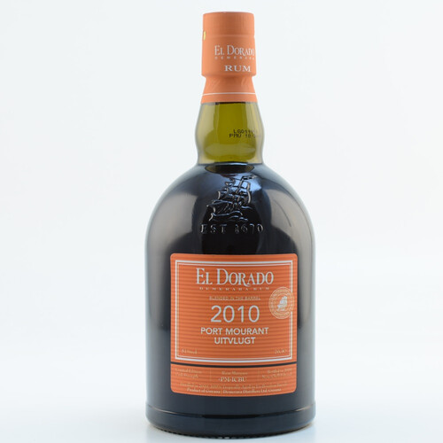 El Dorado Rum Blended in the Barrel 2010/2019 Port Mourant Uitvlugt Limited Edition 51% 0,7l