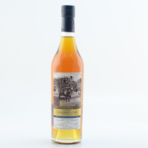 Savanna Rhum Vieux Extra Old Traditionel Unshared Cask 14 Jahre 53,6% 0,5l