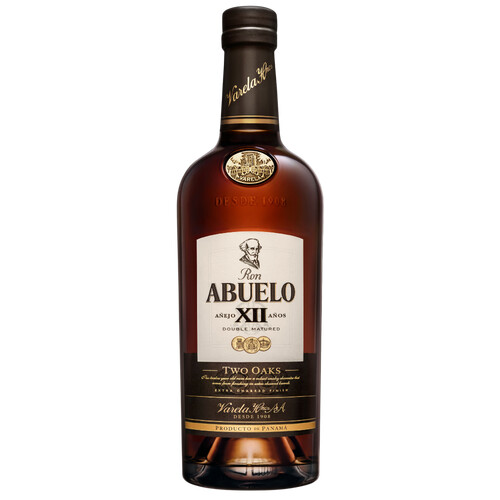 Ron Abuelo 12 Jahre Two Oaks 40% 0,7l