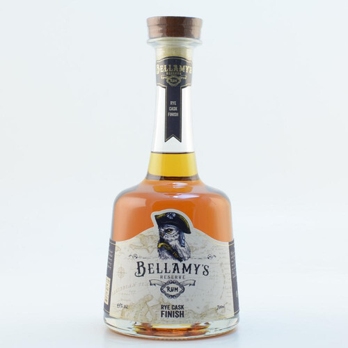 Bellamys Reserve Rum 5-12 Jahre Rye Cask Finish 45% 0,7l
