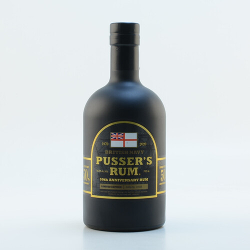 Pussers British Navy Rum 50th Anniversary Limited Edition 54,5% 0,7l