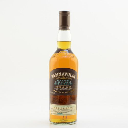Tamnavulin Double Cask Speyside Single Malt Whisky 40% 0,7l