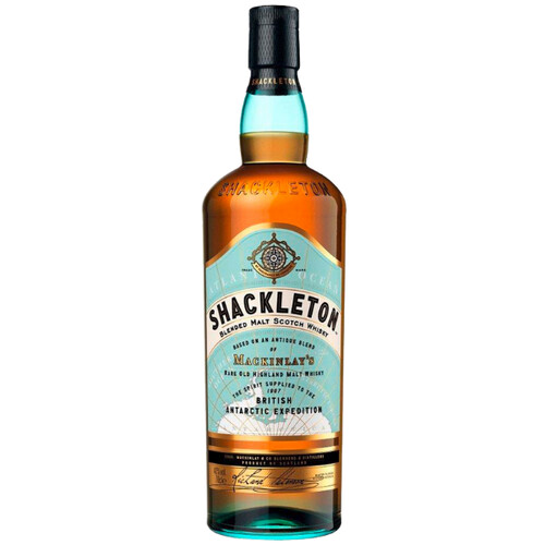 Shackleton Highland Blended Malt Whisky 40% 0,7l + Gratis Tumbler & Ice-Cube-Maker