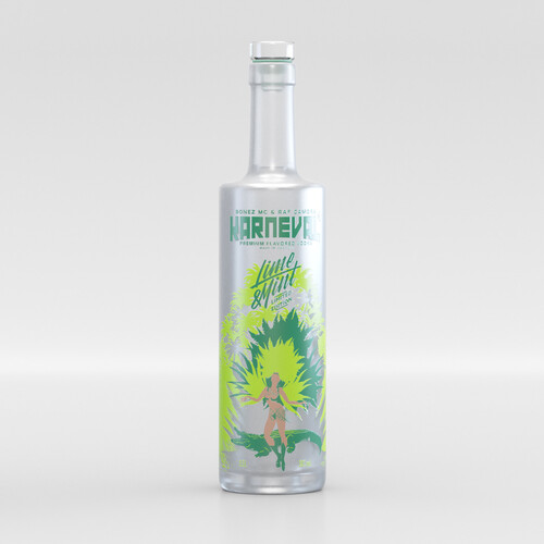 Bonez Mc & Raf Camora Lime & Mint Sonderedition Karneval Vodka 38% 0,5l