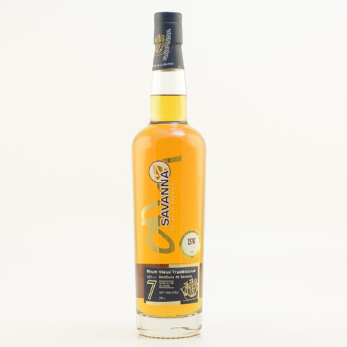 Savanna Rhum Vieux Traditionnel 7 Jahre 43% 0,7l