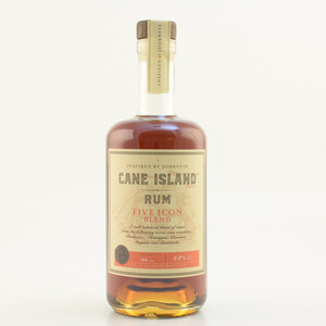 Cane Island Five Icon Blend Rum 44% 0,7l