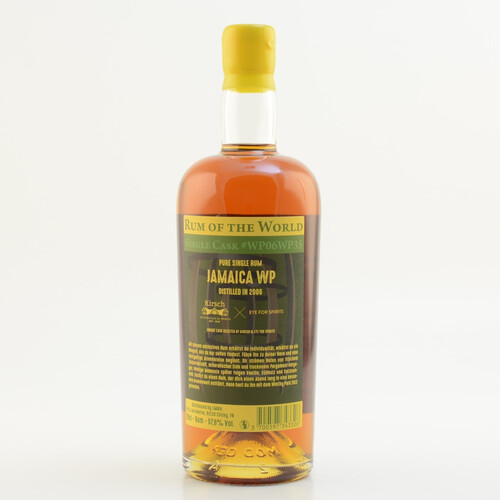 Rum of the World Worthy Park Jamaica 2006 Single Cask Rum 57,6% 0,7l