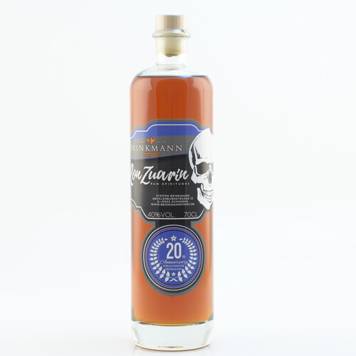 Ron Zuarin 20th Anniversary (Rum-Basis) 40% 0,7l