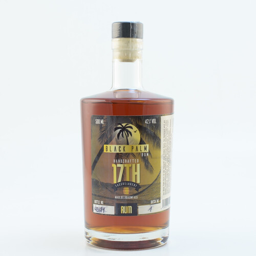 Black Palm Rum 17th Maulbeerfass 42% 0,5l