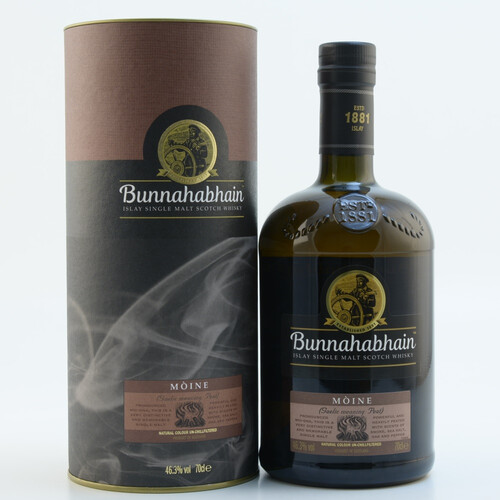 Bunnahabhain Moine Islay Single Malt Scotch Whisky 46,3% 0,7l