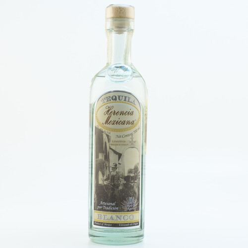 Herencia MexicanaTequila Artesanal Blanco 40% 0,7l