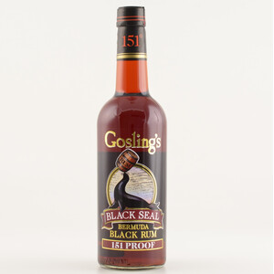 Goslings Black Seal 151 Proof Rum 75,5% 0,7l