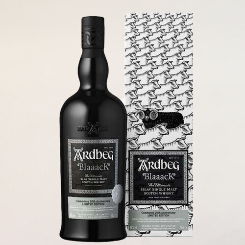 Ardbeg Blaaack Committee 20th Anniversary Islay Whisky 46% 0,7l
