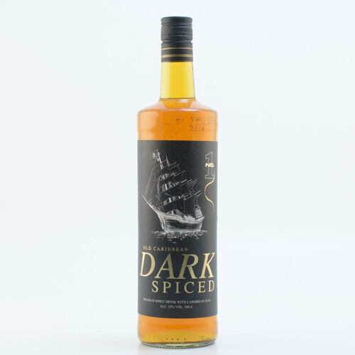 Old Caribbean Dark Spiced (Rum-Basis) 35% 1l