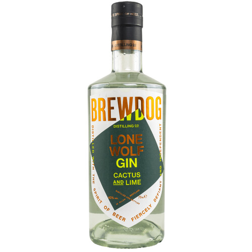 LoneWolf Cactus & Lime Gin 40% 0,7l