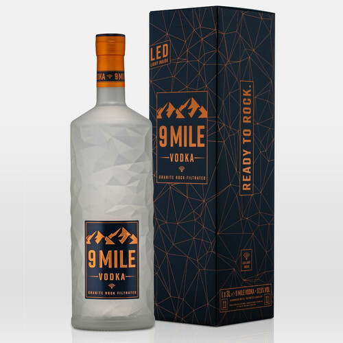 9 Mile Vodka 37,5% 3,0l