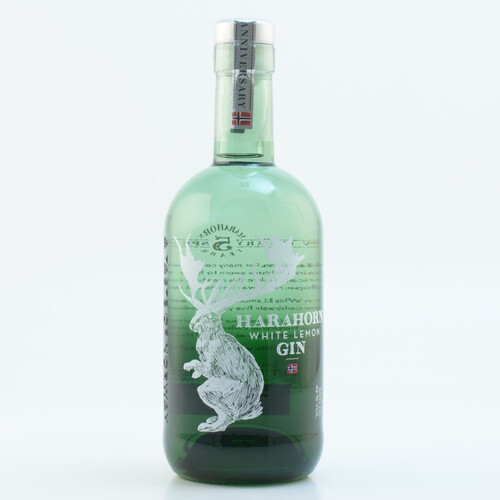 Harahorn Norwegian White Lemon Gin 42% 0,5l