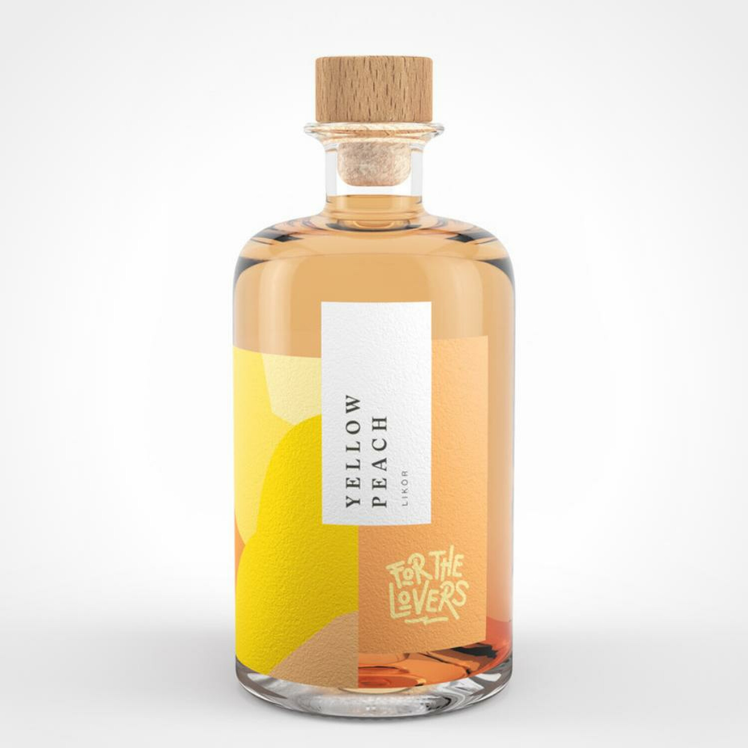 For the Lovers Yellow Peach Likör 22% 0,5l (39,80 € pro 1 l)