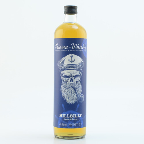 HillBilly Friesen-Whiskey 40% 0,7l