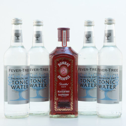 Bombay Bramble & Fever Tree Tonic Set