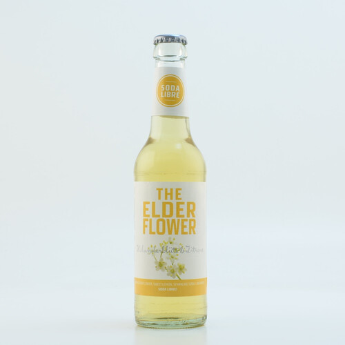 Soda Libre The Elderflower (kein Alkohol) 0,33l