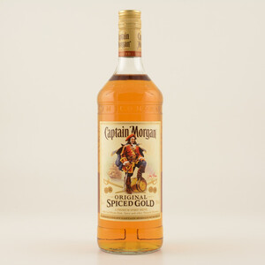 Captain Morgan Spiced Gold (Rum-Basis) 35% 1,0l