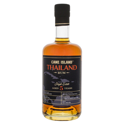 Cane Island Thailand Single Estate Rum 5 Jahre 43% 0,7l