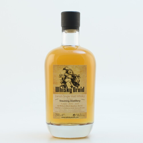 Stauning Druid 2015/2020 Single Cask Peated Whisky 56,7% 0,7l