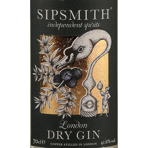 Sipsmith London Dry Gin 41,6% 0,7l