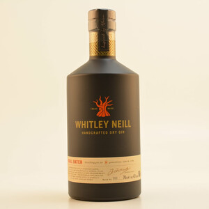 Whitley Neill Handcrafted London Dry Gin 43%1,0l