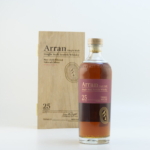 Arran Malt 25 Jahre Single Malt Whisky 46% 0,7l