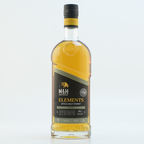 Milk & Honey Elements Peated Single Malt Whisky 46% 0,7l