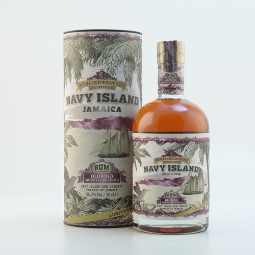 Navy Island Olrosso Sherry Cask Finish Jamaica Rum 46,3% 0,7l