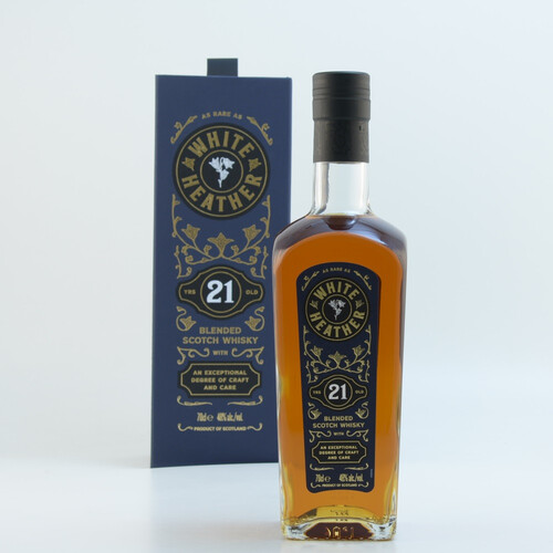 White Heather 21 Jahre Blended Scotch Whisky 48% 0,7l
