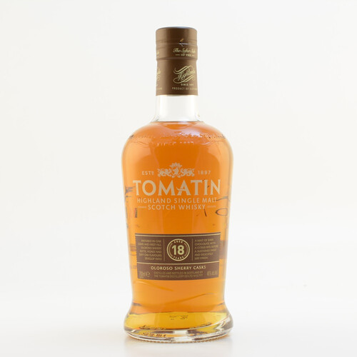 Tomatin 18 Jahre Highland Single Malt Whisky 46% 0,7l