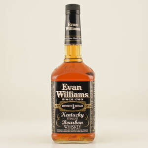 Evan Williams 7 Jahre Black Label Sour Mash 43% 1,0l