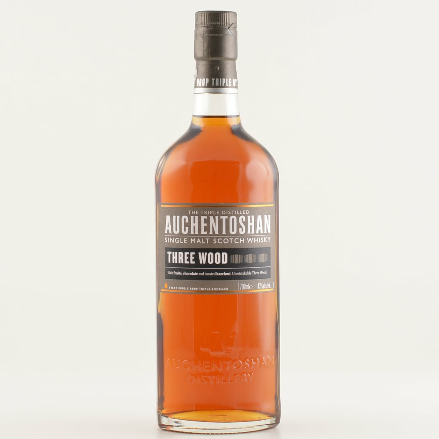 Auchentoshan Three Wood Lowland Whisky 43% 0,7l...