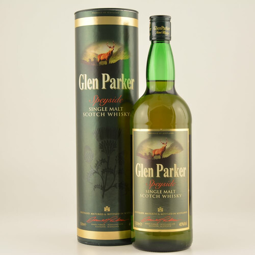 Glen Parker Single Malt 40% 1,0l