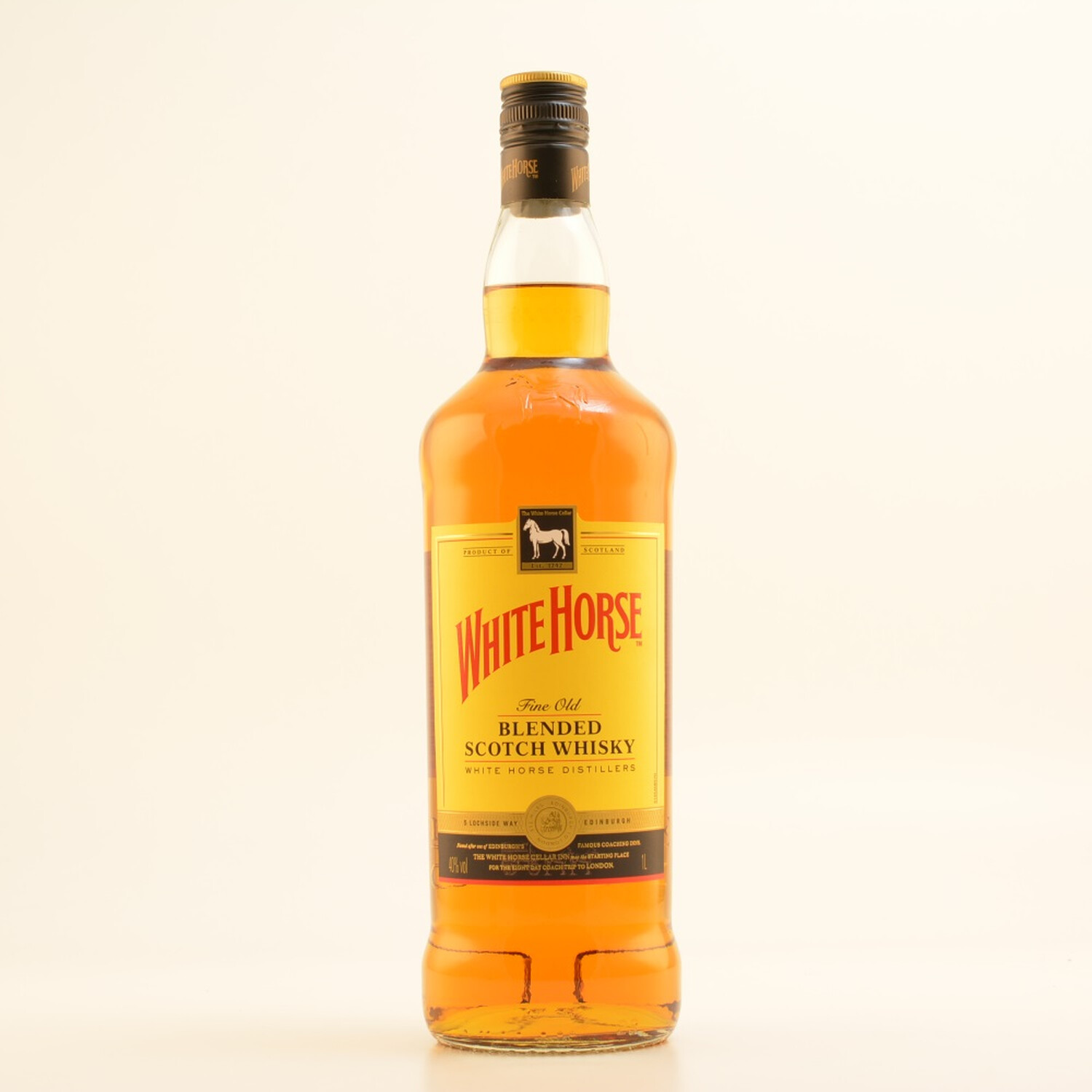 White Horse Blended Scotch Whisky 40% 1,0l (16,...