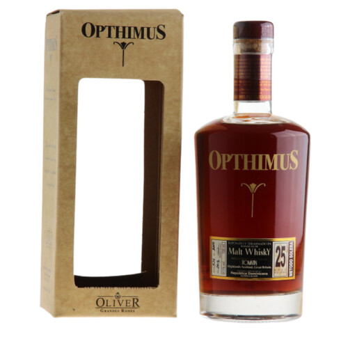Opthimus 25 Jahre Whisky Finish Rum 43% 0,7l