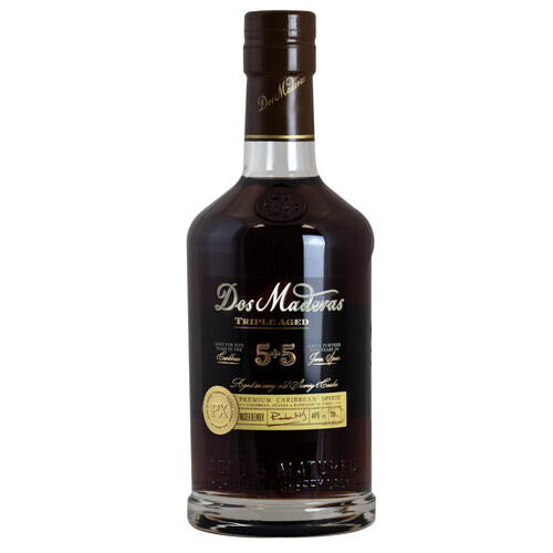 Dos Maderas PX 5+5 Jahre Triple Aged Rum 40% 0,7l