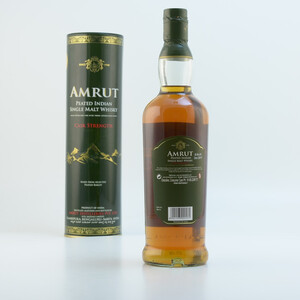 Amrut Peated Indian Whisky Cask Strength 62,8% 0,7l